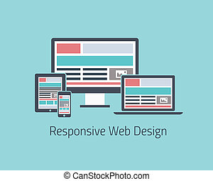 Responsive web design development v.