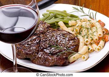 Rib Eye Steak Dinner 5