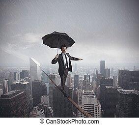 Risiken und Herausforderungen des Geschäftslebens