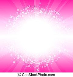 rosa, abstrakt, vektor, hintergrund