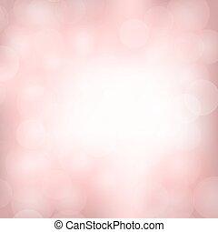 rosa, licht, hintergrund, verwischt