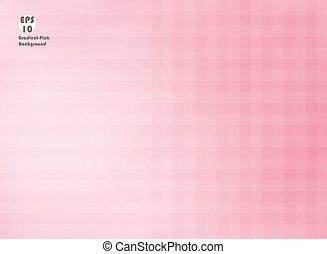 rosa, steigung, licht, färben hintergrund, linie