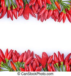Rote Chili-Pfeffer.