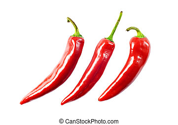 Rote Chilipfeffer