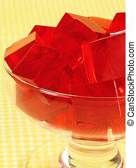Rote Gelatine
