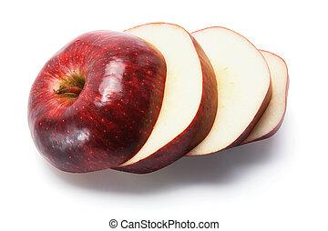 Roter, köstlicher Apfel