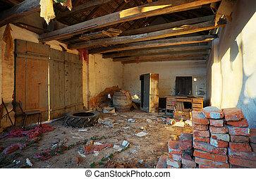 Ruiniertes Haus