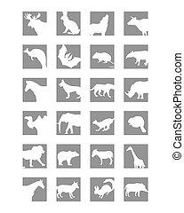 Säugetiere Icon