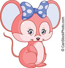 Süße Maus.