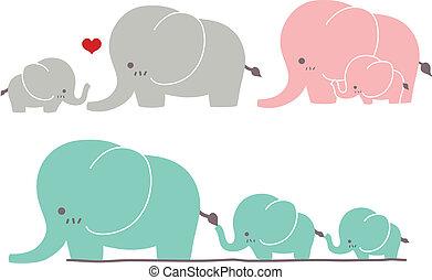 Süßer Elefant