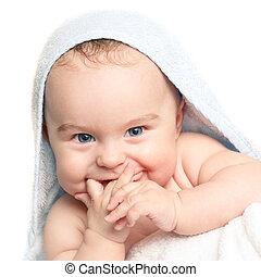 Süßes lächelndes Baby