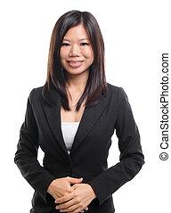 Südostasien-Geschäft / erzieherische Frau
