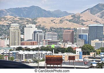Salt Lake City in Utah.