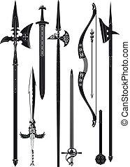 Sammeln mittelalterlicher Waffen