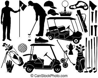 satz, golfen