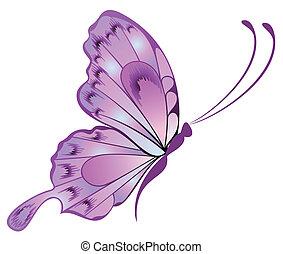 schöne , papillon
