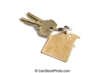 Schlüssel zu neuem Zuhause