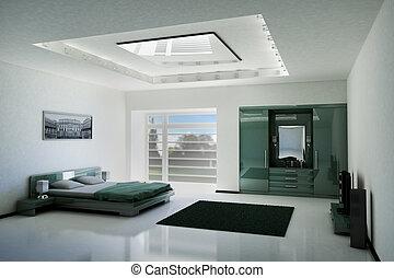 Schlafzimmer in der 3
