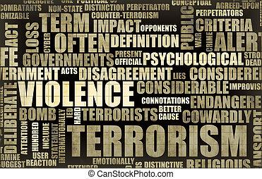 Schlagzeilen-Terrorismus