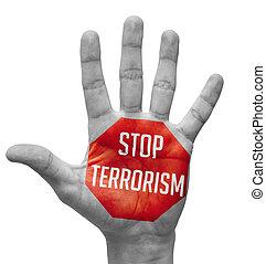 Schluss mit dem Terrorismuskonzept.