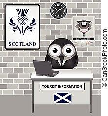 Schottlands Touristeninformation.