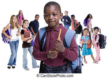 Schulkindervielfalt