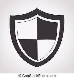 Schutzsymbol.