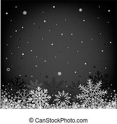 schwarz, weihnachten, hintergrund