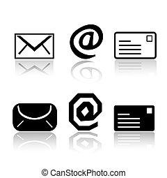 Sechs Post-Ikon-Varianten