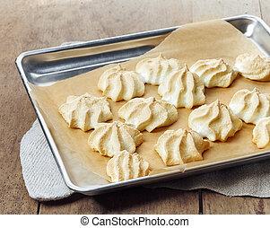 Selbstgemachte Kekse.