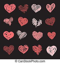 set., love., herz