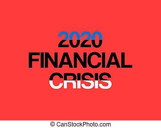 situation, krise, 2020., verursacht, finanziell, schuld, coronavirus, epidemie, estland