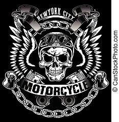 Skull T Shirt Grafikdesign.