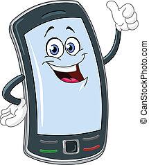 Smartphone Cartoon.
