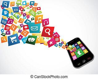Smartphone Download-Anwendungen