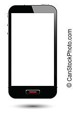Smartphone mit Bildschirm