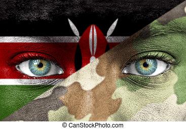 Soldat aus Kenya
