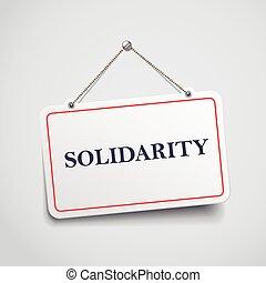 Solidaritätszeichen.
