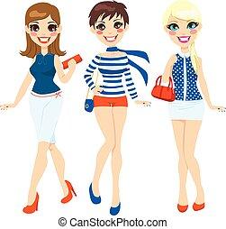 Sommermodefrauen