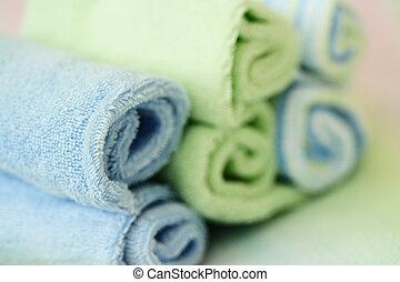 spa, handtücher