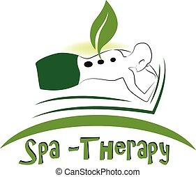 Spa Massage Logo.