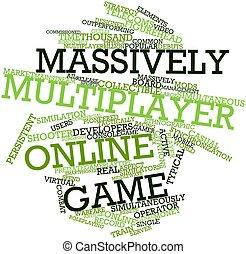 spiel, multiplayer, massively, online