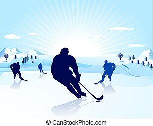 spieler, ice-hockey