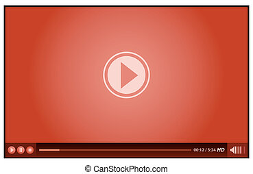 spieler, rotes , video
