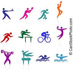 Sport-Icon-Sammlung