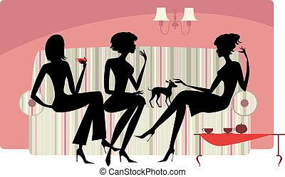 Sprechende Frauen