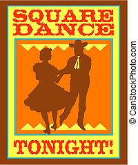 Squaredance-Polka-Dancing-Kunst