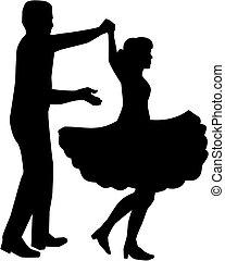 Squaredance Silhouette.