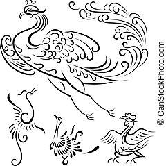 stammesvogel, abbildung