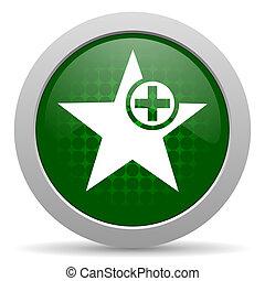 Star Icon hinzufügen Lieblingszeichen.